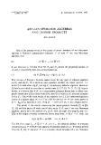 "Báo cáo toán học: ""Abelian operator alegbras and tensor products  """