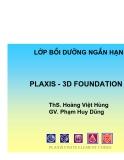 Tài liệu học plaxis 3d foundation