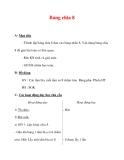 Giáo án môn Toán lớp 3 :Tên bài dạy : Bảng chia 8