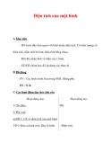 Giáo án môn Toán lớp 3 :Tên bài dạy : Diện tích của một hình