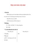 Giáo án môn Toán lớp 3 :Tên bài dạy : Diện tích hình chữ nhật