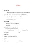 Giáo án môn Toán lớp 3 :Tên bài dạy : Gam