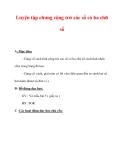 Giáo án môn Toán lớp 3 :Tên bài dạy : Luyện tập chung cộng trừ các số có ba chữ số