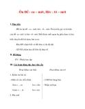 Giáo án môn Toán lớp 3 :Tên bài dạy : Ôn Đề - ca – mét, Héc - tô – mét