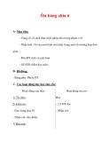Giáo án môn Toán lớp 3 :Tên bài dạy : Ôn bảng chia 6