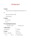 Giáo án môn Toán lớp 3 :Tên bài dạy : Ôn Bảng chia 9