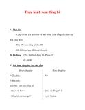 Giáo án môn Toán lớp 3 :Tên bài dạy : Thực hành xem đồng hồ
