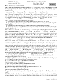 15 Đề thi thử ĐH môn Vật lý 12 - THPT Việt Yên 2