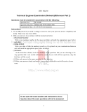 TECHNICAL ENGINEER EXAMINATION (NETWORK)(AFTERNOON, PART 2)