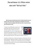 ForceVision 3.3: Phần mềm sửa ảnh