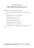 ĐỀ CƯƠNG BÀI GIẢNG MÔĐUN THIẾT KẾ ÁO SƠ MI, QUẦN ÂU, VÁY - BÀI 1