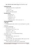 ĐỀ CƯƠNG BÀI GIẢNG MÔĐUN THIẾT KẾ ÁO SƠ MI, QUẦN ÂU, VÁY - BÀI 3