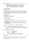 Bài giảng Visual FoxPro - Chương 2
