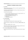 Bài giảng Visual FoxPro - Chương 8