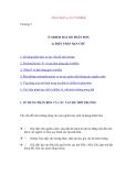 Ô nhiễm đất - Phần 1 Phân bón và sự ô nhiễm - Chương 2