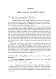 Khai thác và sử dụng SPSS để xử lý số liệu nghiên cứu trong lâm nghiệp - Chương 8