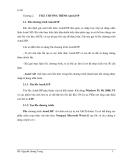 THIẾT KẾ TRÊN MÁY VI TÍNH - Phần 2 AUTOLISP - Chương 2