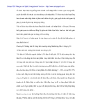 Luận văn: Các hoạt động kinh tế đối ngoại và việc sử dụng các công cụ của kinh tế trong thúc đẩy phát triển (part 2)