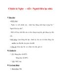Giáo án Tiếng Việt lớp 3 : Tên bài dạy : Chính tả Nghe – viết : Người liên lạc nhỏ.