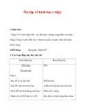 Giáo án môn Toán lớp 3 : Tên bài dạy : Ôn tập về hình học ( tiếp)