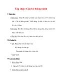 Giáo án Tiếng Việt lớp 3 : Tên bài dạy : Tập chép: Cậu bé thông minh