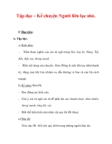 Giáo án Tiếng Việt lớp 3 : Tên bài dạy : Tập đọc – Kể chuyện Người liên lạc nhỏ.