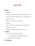 Giáo án Tiếng Việt lớp 3 : Tên bài dạy : Tập đọc Bận