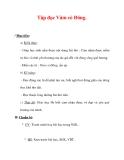 Giáo án Tiếng Việt lớp 3 : Tên bài dạy : Tập đọc Vàm cỏ Đông.