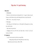 Giáo án Tiếng Việt lớp 3 : Tên bài dạy : Tập đọc Vẽ quê hương.