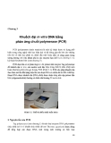 Giáo trình CÔNG NGHỆ DNA TÁI TỔ HỢP - Chương 3