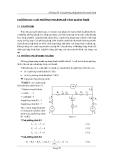 Mạch điện 1 ( ĐH kỹ thuật công nghệ TP.HCM ) - Chương 3