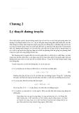 Cơ sở kỹ thuật siêu cao tần - Chương 2