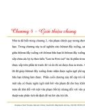 Lý thuyết văn phạm, ngôn ngữ và ôtômát - Chương 4