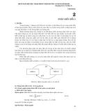 Giáo trình môn xử lý tín hiệu số - Chương 2