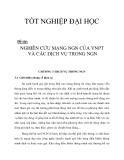 NGHIÊN CỨU MẠNG NGN CỦA VNPT VÀ CÁC DỊCH VỤ TRONG NGN chương 3_1
