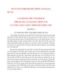 BÁO CÁO: CÁC PHƯƠNG THỨC TÍCH HỢP IP TRÊN QUANG VÀ ỨNG DỤNG TRONG NGN CỦA TỔNG CÔNG TY BƯU CHÍNH VIỄN THÔNG VIỆT NAM (Chương 4_1)