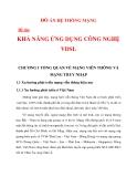 KHẢ NĂNG ỨNG DỤNG CÔNG NGHỆ VDSL CHƯƠNG 1_1