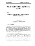 QoS trong mạng IP  NGHIÊN CỨU CHẤT LƯỢNG DỊCH VỤ TRONG MẠNG IP CHƯƠNG 1_1