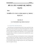 QoS trong mạng IP  NGHIÊN CỨU CHẤT LƯỢNG DỊCH VỤ TRONG MẠNG IP CHƯƠNG 4_2