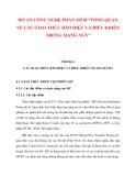 ĐỒ ÁN CÔNG NGHỆ PHẦN MỀM: TỔNG QUAN VỀ CÁC GIAO THỨC BÁO HIỆU VÀ ĐIỀU KHIỂN TRONG MẠNG NGN (CHƯƠNG 4_1)