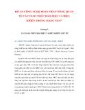 ĐỒ ÁN CÔNG NGHỆ PHẦN MỀM: TỔNG QUAN VỀ CÁC GIAO THỨC BÁO HIỆU VÀ ĐIỀU KHIỂN TRONG MẠNG NGN (CHƯƠNG 5)