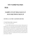 NGHIÊN CỨU KỸ THUẬT QUẢN LÝ HÀNG ĐỢI TRONG MẠNG IP CHƯƠNG 2_2