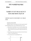 NGHIÊN CỨU KỸ THUẬT QUẢN LÝ HÀNG ĐỢI TRONG MẠNG IP CHƯƠNG 3_3