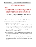 ỨNG DỤNG CỦA KIẾN TRÚC CQS VÀ VẤN ĐỀ QUẢN LÍ NGHẼN TRONG MẠNG IP CHƯƠNG 4_2