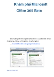 Khám phá Microsoft Office 365 Beta