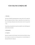 TÂM THANH CƠ ĐỘNG ĐỒ