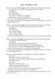 Bài tập lập trình hướng đối tượng c