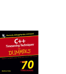 C++ Timesaving Techniques™ FOR DUMmIES