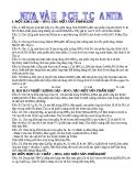 Các bài toán về hợp chất HNO3