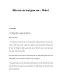 Điều trị các loại giun sán – Phần 1